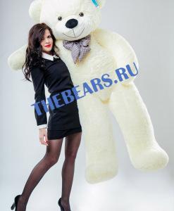 Большой-плюшевый-медведь-200см-белый