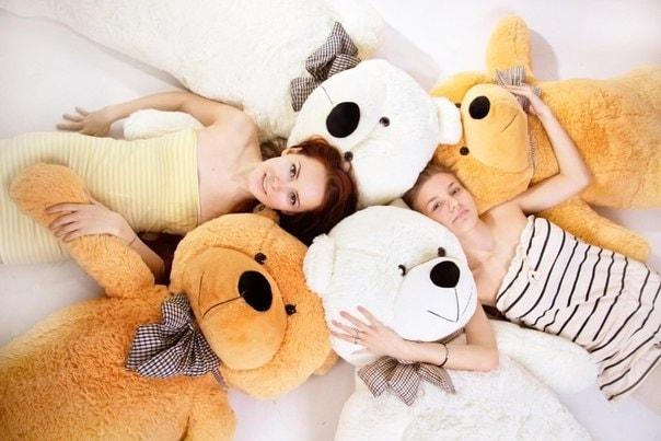 Плюшевые медведи в Санкт-Петербурге